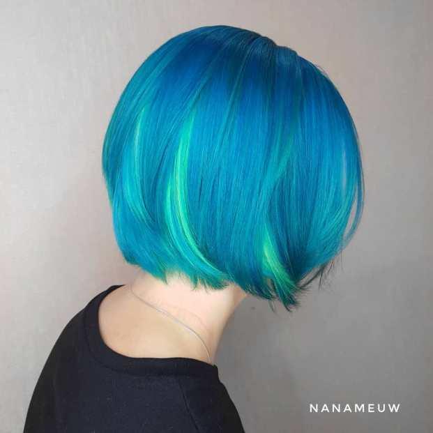 49956596 783003292068240 4079128288304579742 n 621x621 - Cabelo Azul: Como Pintar Em Casa, Fotos Inspirações, Como Cuidar