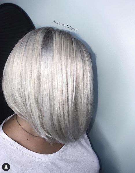 cabelo platinado 7 - Cabelo Platinado Curto 2019/2020: Tendências de Cortes, Cores, Fotos