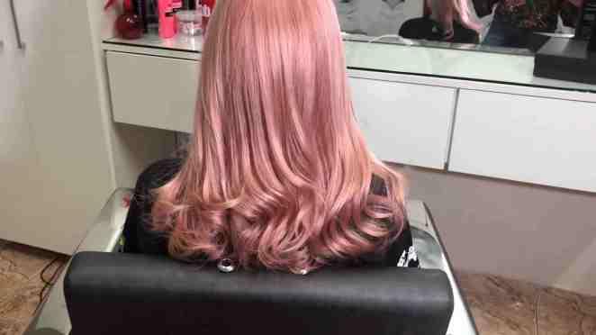 IMG 0413 - Cabelo Rosa Dourado: Como Ter com Coloração Passo A Passo