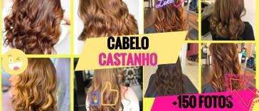 cabelo castanho - Cabelo Castanho 2020: 150 Cortes e Cores Para Se Inspirar + Dicas