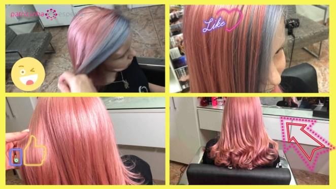 cabelo rosa dourado - Cabelo Rosa Dourado: Como Ter com Coloração Passo A Passo