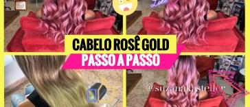 cabelo rose passo a passo - Como Pintar o Cabelo de Rosa Em Casa Passo A Passo