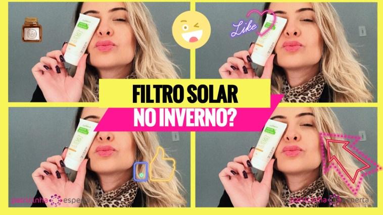 filtro solar - Por que usar filtro solar no inverno?