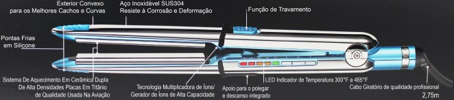 prancha nano titanium optima 3000 465F babnt3000tbr functions babyliss pro - Melhor Chapinha Do Mundo: Lizze Extreme VS Babyliss Pro OPTIMA3000