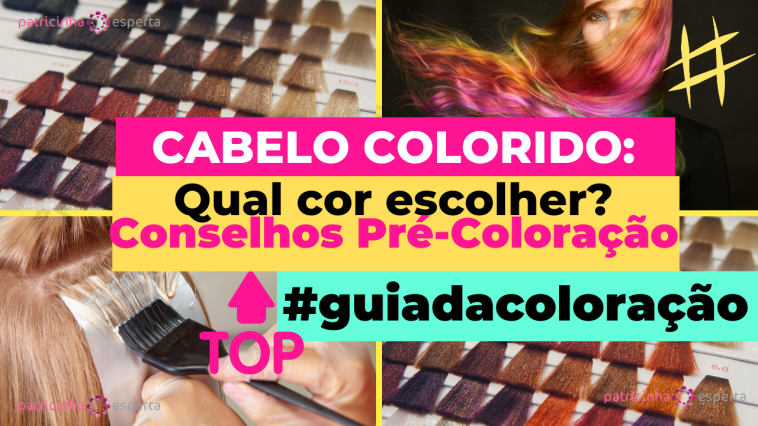Como Escolher o Shampoo Certo 5 - Cabelos Coloridos: O Guia Pré e Pós Coloração