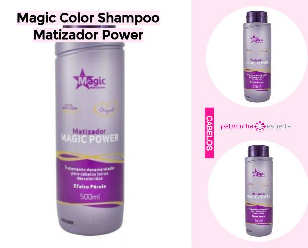 Magic Color Shampoo Matizador Power - Shampoo Tonalizante ✅ Como Funciona, Qual o Melhor? Como Usar