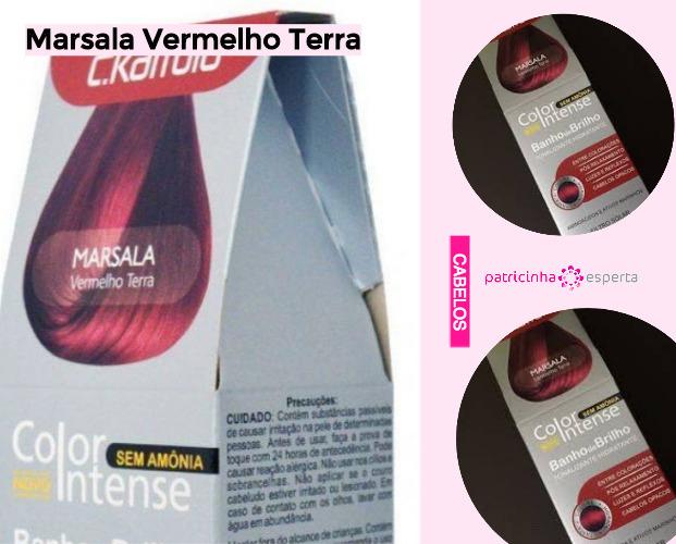 Marsala Vermelho Terra1 - Shampoo Tonalizante ✅ Como Funciona, Qual o Melhor? Como Usar