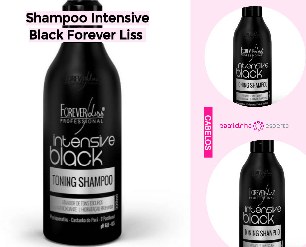 Shampoo Intensive Black Forever Liss - Shampoo Tonalizante ✅ Como Funciona, Qual o Melhor? Como Usar