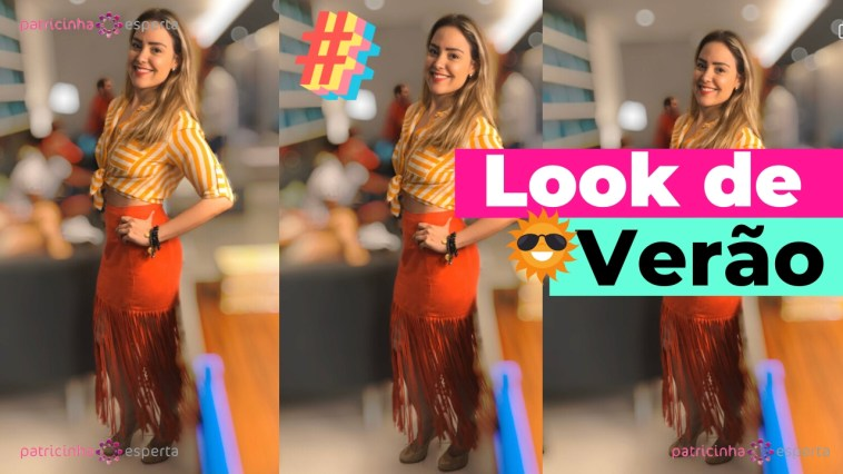 Como Escolher o Shampoo Certo 11 - Meu Look de Verão: Franjas, Listras, Vermelho e Amarelo