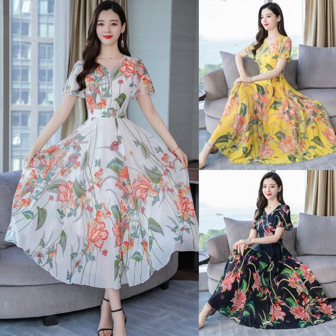 H85aad36e52fd44259f9d67a175a44d0bI - Vestidos Que Emagrecem ✅ Melhores Modelos, Looks Inspirações