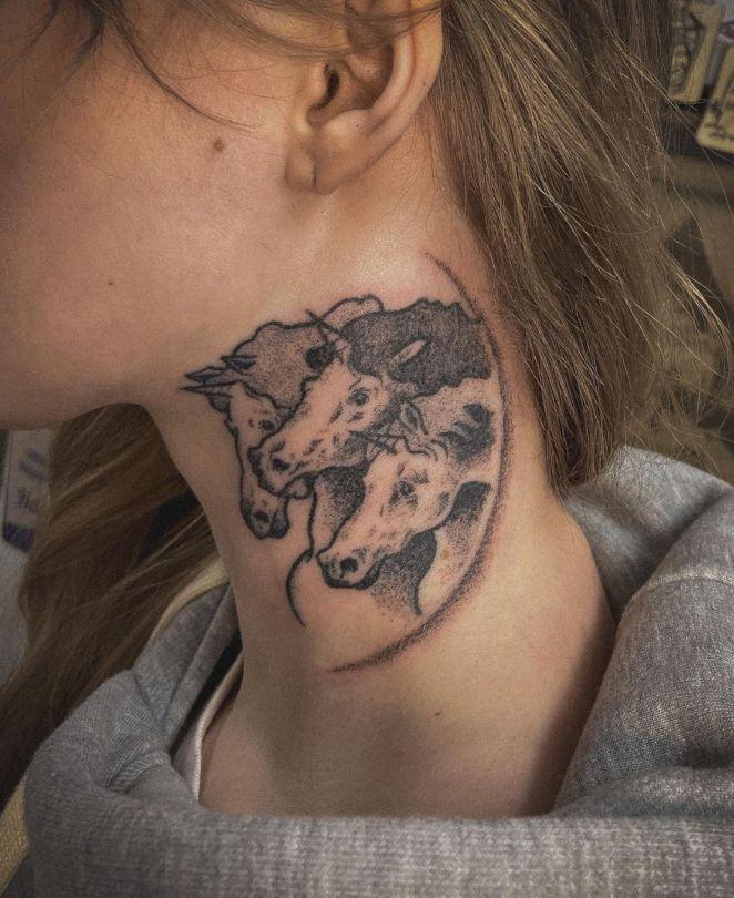 sad.in .jail tattoo 242706596 6142154875855719 1658737550986157411 n - Tatuagens Femininas: Tendências, Estilos Para Copiar