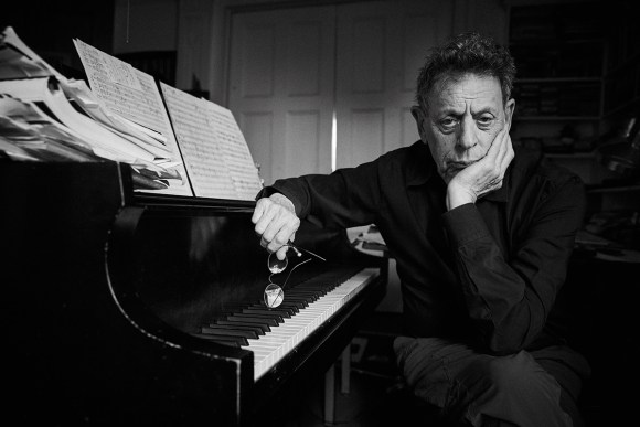 Philip Glass (foto de Danny Clinch)