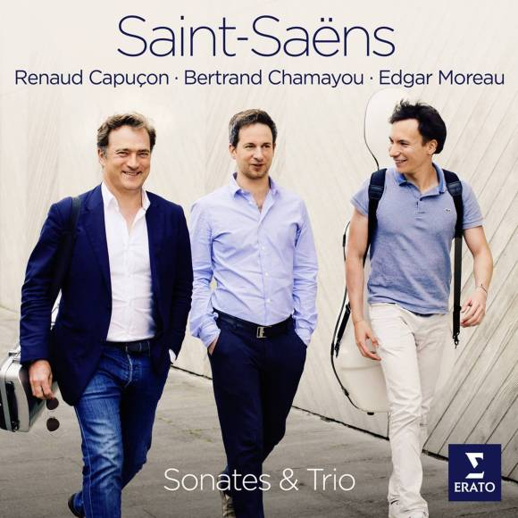 22 - Renaud Capuçon, Bertrand Chamayou, Edgar Moreau - Saint-Saëns: Sonates & Trio