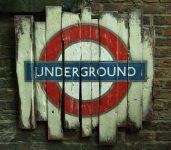 underground(2) wood wall art