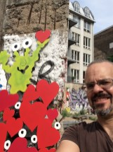 Die Monster erobern die Berliner Mauer