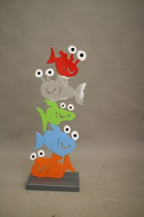 Fische übereinander (M1031)
