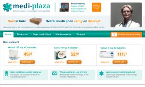 Medi-plaza website