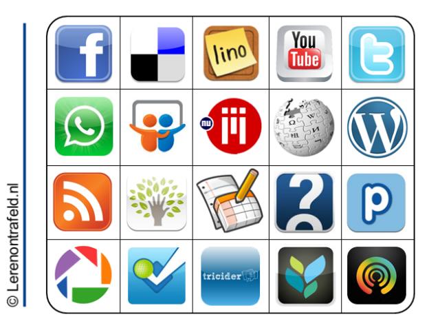 Sociale Media Bingo