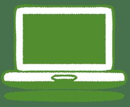 green-laptop-icon