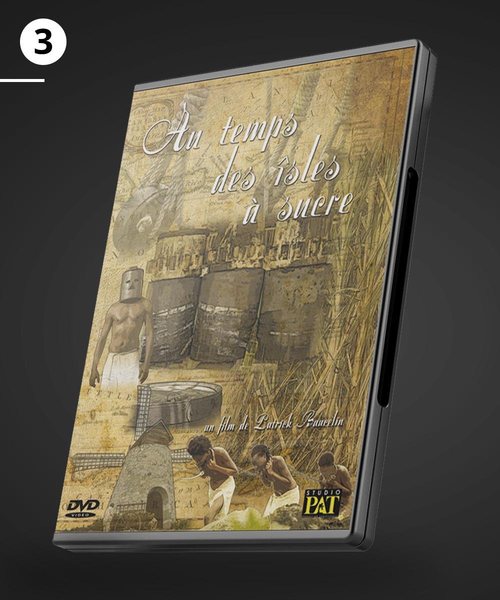"""DVD du film """"Au temps des Isles à sucre"""""""