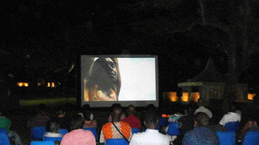 Projection du film