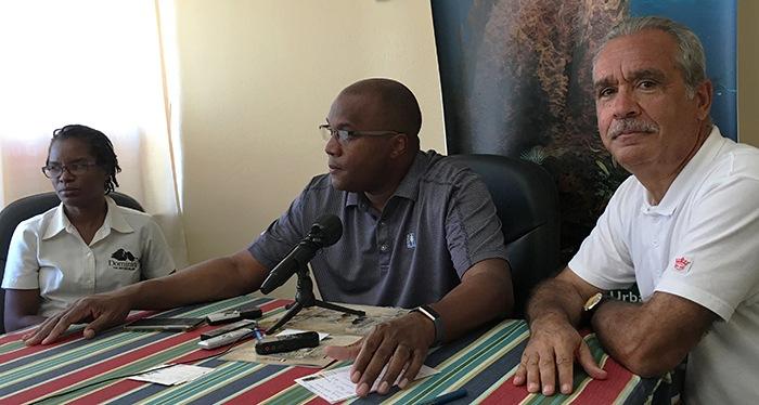 Conférence de presse avec Robert TONGE, Ministre de la Culture et du Tourisme de la DOMINIQUE