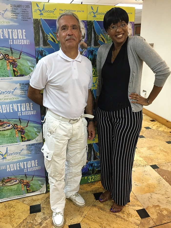 Minister of tourism, St Vincent & the Grenadines