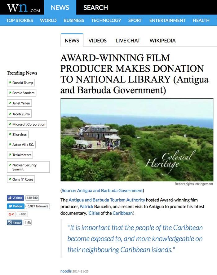 Donation de DVDs du film