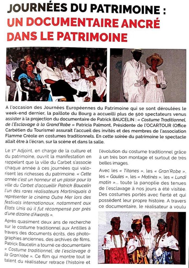 Bulletin Mairie du Carbet