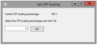 Set DPI Scaling - General