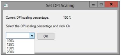 Set DPI Scaling - Options