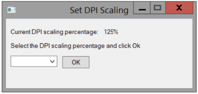 Self servicing DPI scaling while using RES ONE Workspace