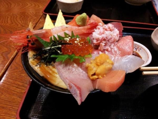 Sashimi, Kanazawa-style at Jimonotei