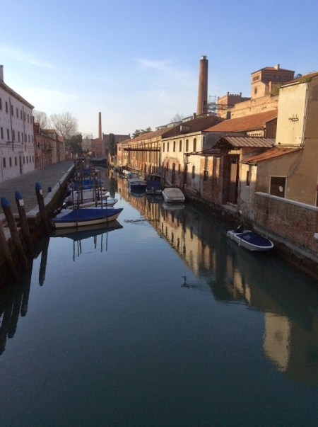Walking in Venice off the beaten path