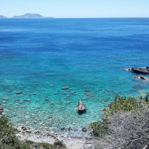 The sea of south Crete