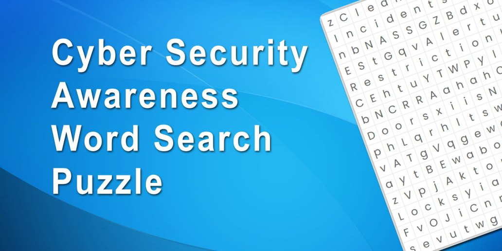 Cyber Crime Word Search Puzzle