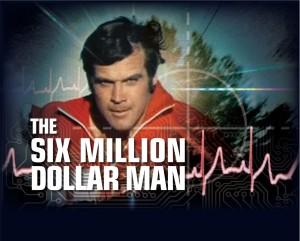 Jim Egan meets Lee Majors in aspen colorado.  The 6 million dollar man.