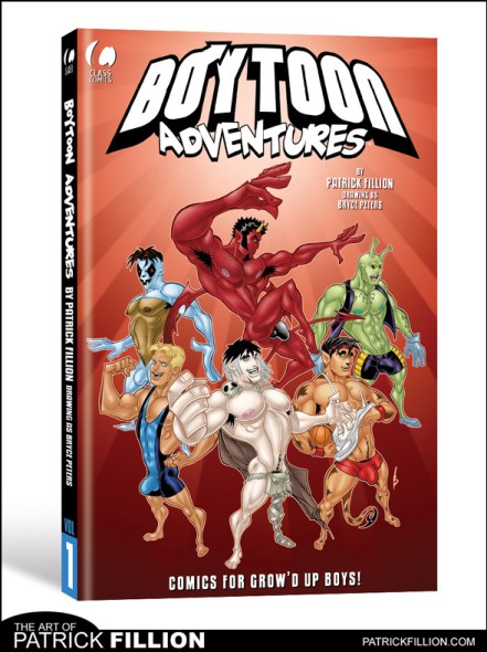 The cover to the 90-page Boytoon Adventures #1 -- coming this Fall from Class Comics!