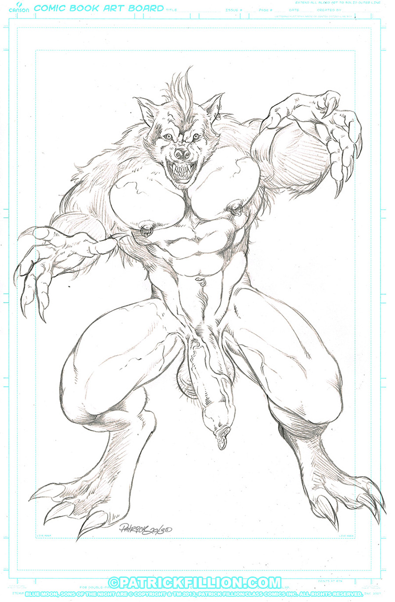 Sons of the Night - BLUE MOON-pencils