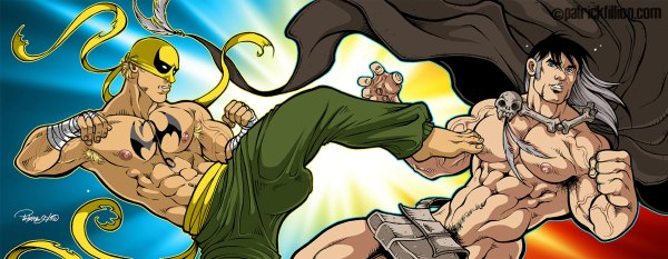 IRON FIST vs ZAHN