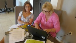 Our Swedish coordinators, Susanne Oldenburg Johansson and Viveca Hallberg, they make good texts, they are moderate, they come from the modelstate of the EU; We all love them!