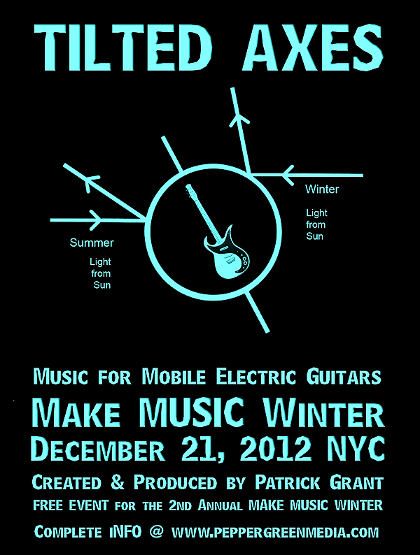 TILTED AXES 2012 – Make Music Winter NYC | The MMiXdown
