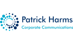 Patrick Harms Corporate Communications - interim freelance zzp logo