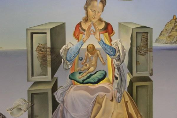 Madonna of Portlligat (detail)