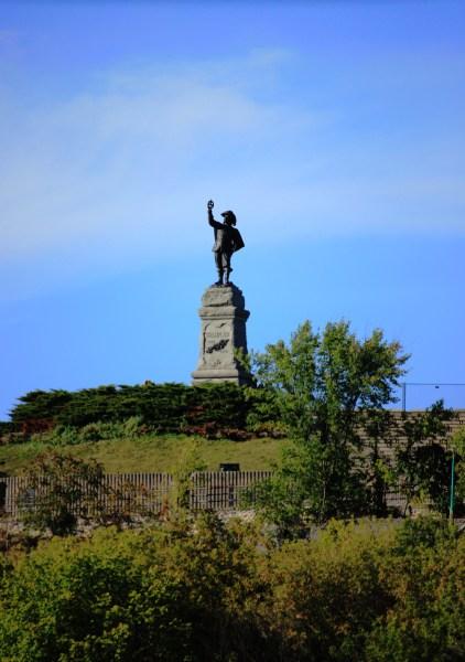 Samuel de Champlain -- Statue