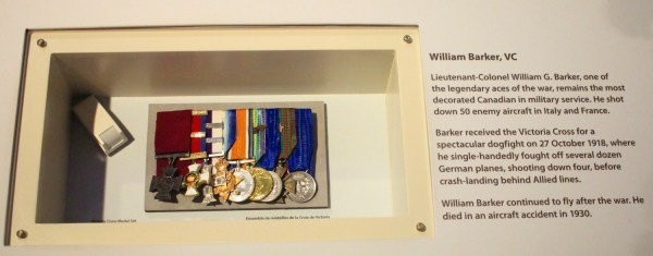 William Barker VC's medals