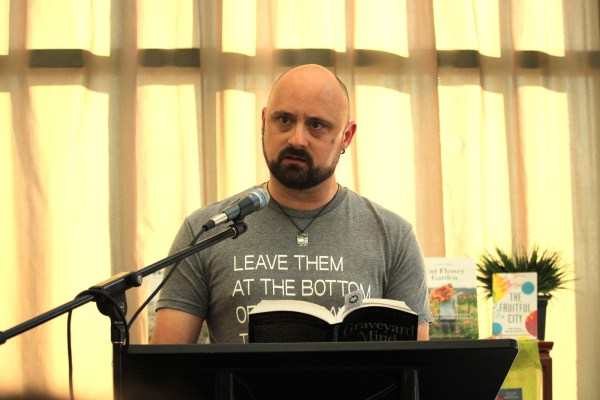 Chadwick Ginther reads from his new novel