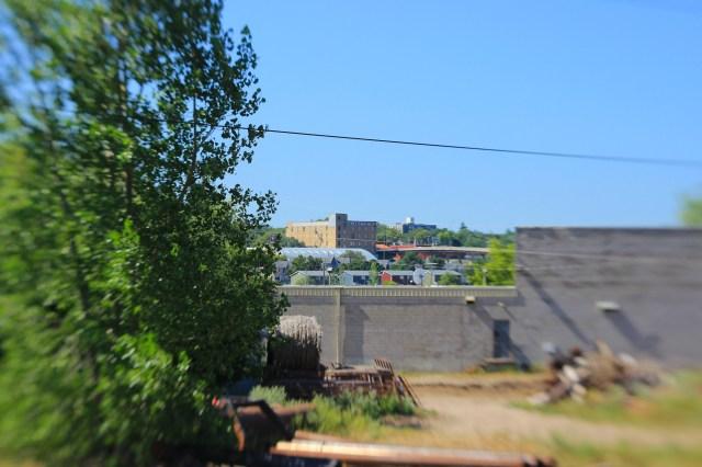Stockyards and warehouse