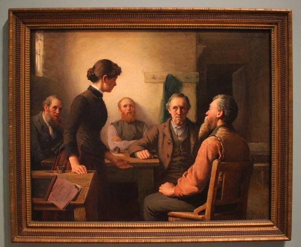 A Meeting of the School Trustees, by Robert Harris