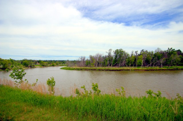 A bend in the Assiniboine River